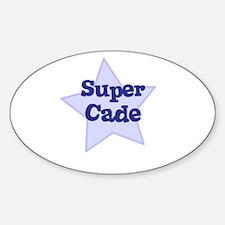 Super Cade Oval Decal