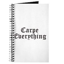 Carpe Everything Journal