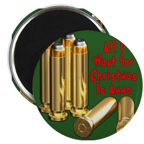 Christmas Ammo Wish Magnet