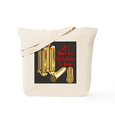 Christmas Ammo Wish Tote Bag