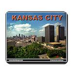 Kansas City Skyline Mousepad