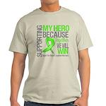 Hero NonHodgkinsLymphoma Light T-Shirt