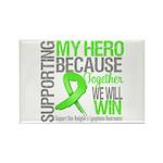 Hero NonHodgkinsLymphoma Rectangle Magnet (10 pack
