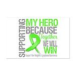 Hero NonHodgkinsLymphoma Mini Poster Print