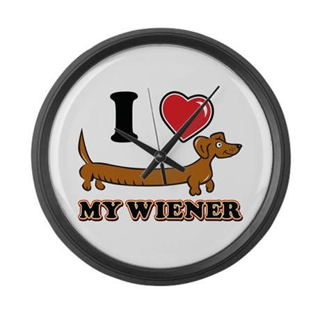 I love my Wiener Large Wall Clock