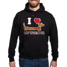 I love my Wiener Hoodie
