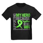 Hero NonHodgkins Lymphoma Kids Dark T-Shirt