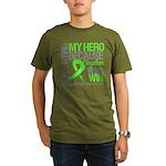 Hero NonHodgkins Lymphoma Organic Men's T-Shirt