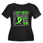 Hero NonHodgkins Lymphoma Women's Plus Size Scoop