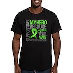 Hero NonHodgkins Lymphoma Men's Fitted T-Shirt