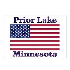 Prior Lake Flag Postcards (Package of 8)