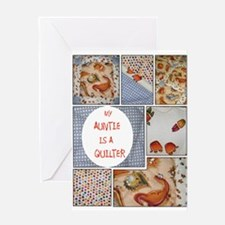 AUNTIE QUILTER Greeting Card