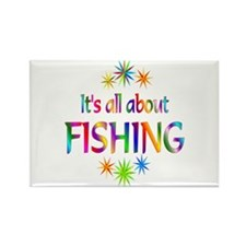 Fishing Rectangle Magnet (100 pack)