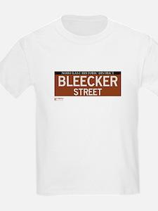 Bleecker Street in NY T-Shirt