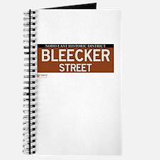 Bleecker Street in NY Journal