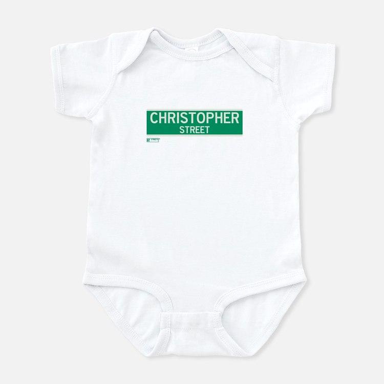 Christopher Street in NY Infant Bodysuit