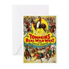Tompkins Wild West - Greeting Cards (Pk of 10)