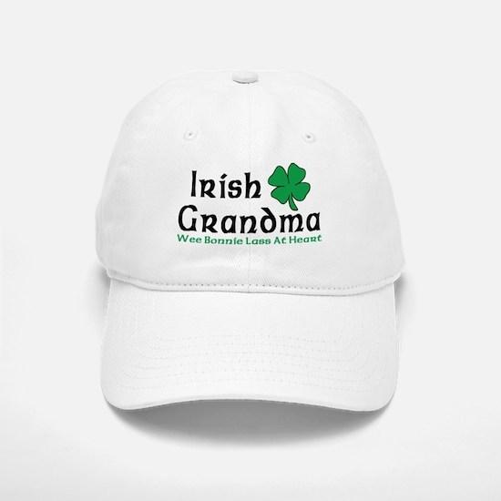 Irish Grandma Baseball Baseball Cap