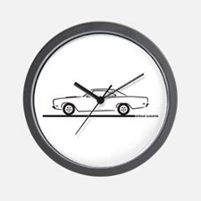 68 and 69 Roadrunner Wall Clock