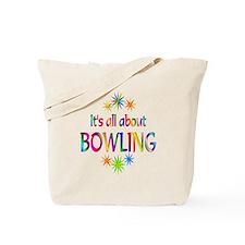 Bowling Tote Bag
