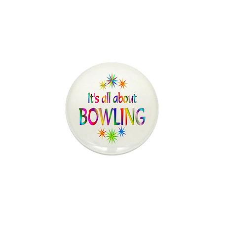 Bowling Mini Button (10 pack)