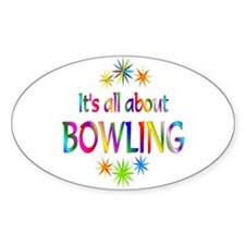Bowling Oval Decal