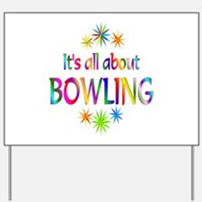 Bowling Yard Sign