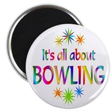"""Bowling 2.25"""" Magnet (100 pack)"""