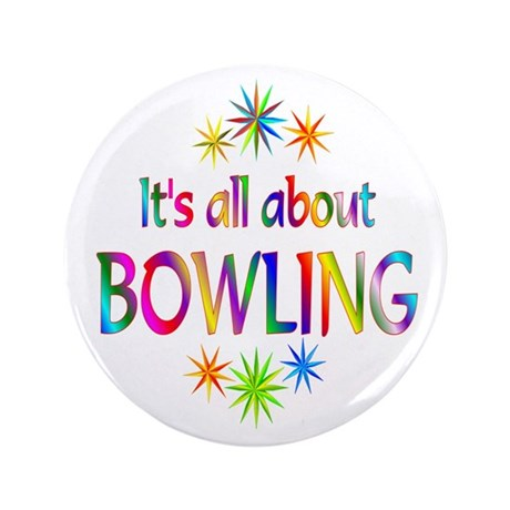 """Bowling 3.5"""" Button (100 pack)"""