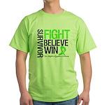 NonHodgkinsFightWin Green T-Shirt