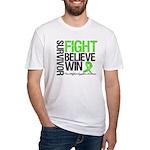 NonHodgkinsFightWin Fitted T-Shirt