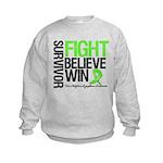 NonHodgkinsFightWin Kids Sweatshirt
