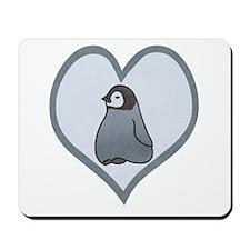 Baby Emperor Penguin Mousepad