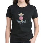 Pink & Blue Angel Women's Dark T-Shirt