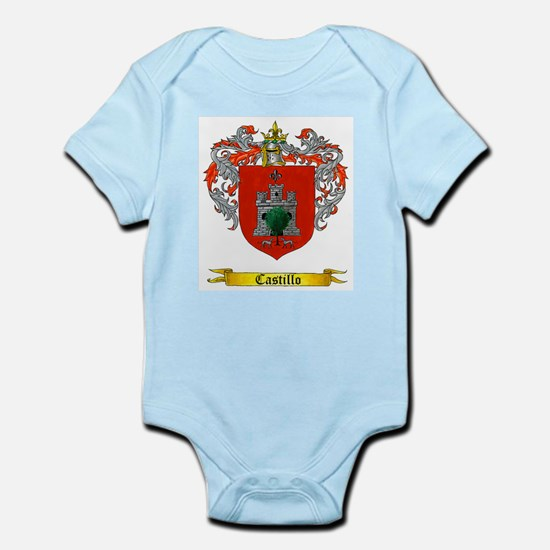 Castillo Family crest Infant Creeper