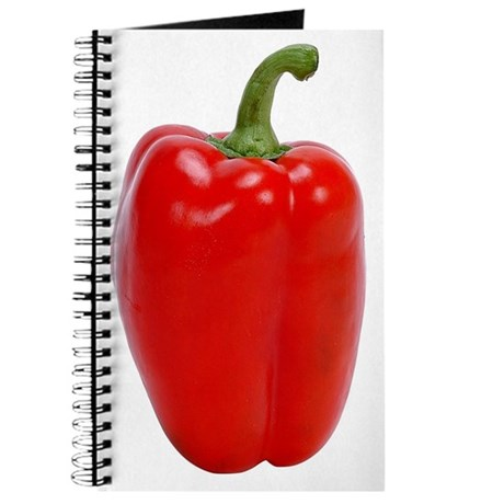 A Red Bell Pepper On Your Journal