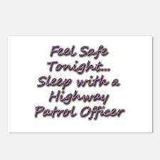 Unique Cop humor Postcards (Package of 8)
