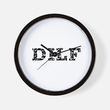 DILF Clothing Wall Clock