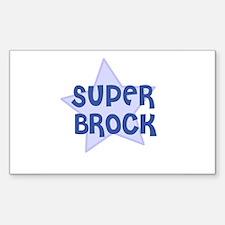 Super Brock Rectangle Decal