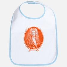 Sir Isaac Newton Portrait Bib