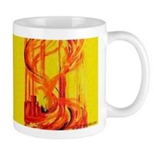 Abstract Phoenix / Firebird Mug