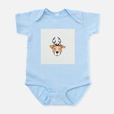 Reindeer Pit Infant Bodysuit
