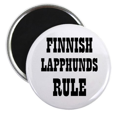 "FINNISH LAPPHUNDS RULE 2.25"" Magnet (10 pack)"