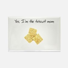 Triscuit Mom Rectangle Magnet