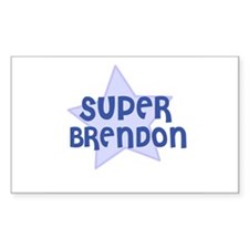 Super Brendon Rectangle Decal