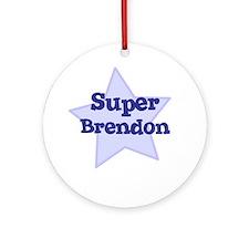 Super Brendon Ornament (Round)