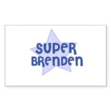 Super Brenden Rectangle Decal