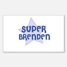 Super Brenden Rectangle Decal