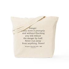 Winston Churchill 4 Tote Bag