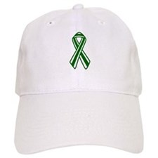 Stripped Donor Awareness Baseball Cap